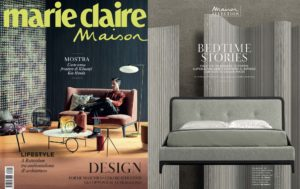Bedtime Stories! Marie Bed, design by Joe Garzone on Marie Claire Maison Italia || February 2020