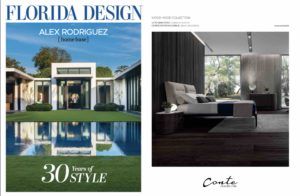 Conte Bed on Florida Design