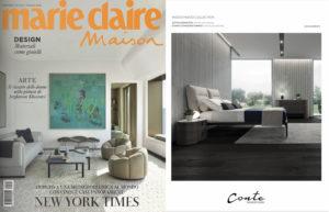 Conte Bed on Marie Claire Maison Italia