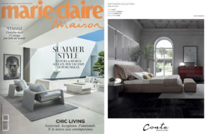 Get inspired! SOFT Bed, design Joe Garzone on Marie Claire Maison Italia