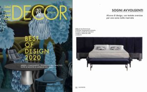 WALL bed, designed by Joe Garzone, is #bestOfDesign2020 selected by Elle Decor