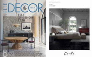 SOFT bed on Elle Decor || September 2020