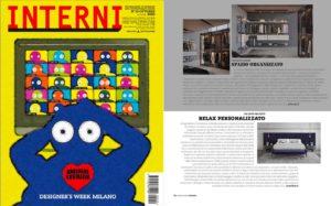 Designer's week 2020. Wall Bed, design Joe Garzone on Interni Magazine || October 2020