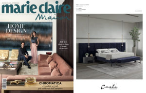 Chic Living. WALL Bed on Marie Claire Maison _ October 2020