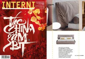 SOFT Bed, big dreams! Soft Bed, design by Joe Garzone on INTERNI | November 2020