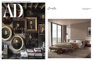 DOMINIK Collection _ design Enrico Cesana on AD Italia || February 2021