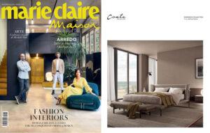 Fashion Interiors. DOMINICK Collection _ design Enrico Cesana on Marie Claire Maison || March 2021