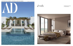 DOMINICK Collection _ design Enrico Cesana on AD | July/August 2021