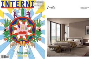 DOMINICK Collection, design Enrico Cesana, on INTERNI    July/August 2021